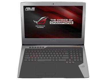 "ROG G752VS 17.3"" FHD matt GeForce GTX1070, Core i7-6820HK, 16GB RAM,512GB PCIe SSD,1TB HDD, DVD±RW, W10 Home"