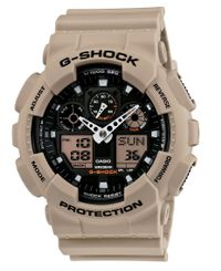 CASIO G-Shock GA-100L - Klokke - Coyote