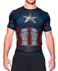 Under Armour Captain America Suit - T-skjorte