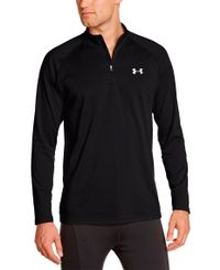 Under Armour EU Mid 1/4 Zip - Trøye - Svart