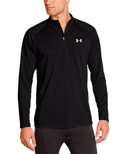 Under Armour EU Mid 1/4 Zip - Trøye - Svart (1286478-001-S)