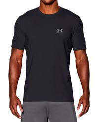 Under Armour CC Chest Lockup - T-skjorte - Svart