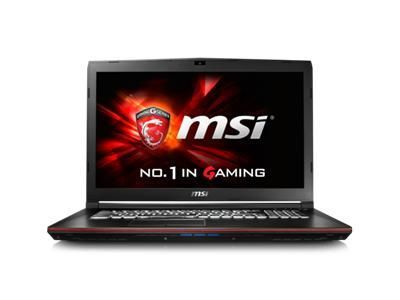 "MSI GP72 17.3"" Full HD matt GeForce GTX960M, Core i7-6700HQ, 16GB RAM,256GB SSD,1TB HDD, DVD±RW, W10 Home (GP72 6QF-838NE)"