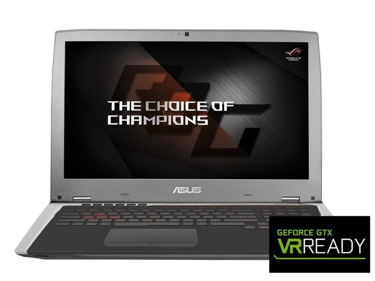 "ROG G701VI 17.3"" FHD matt 120Hz G-SYNC,  GeForce GTX1080, Core i7-6700HQ, 16GB RAM,512GB PCIe SSD,Win 10 Home"