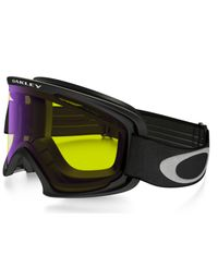 Oakley O2 XL Black - Hi Yellow Iridium/ Dark Grey - Goggles (59-361)