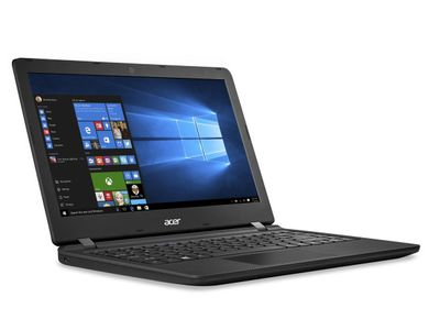 "ACER Aspire ES1-332 13.3"" HD matt sort Celeron N3350, 4GB RAM, 64GB SSD, Windows 10 Home (NX.GGKED.003)"