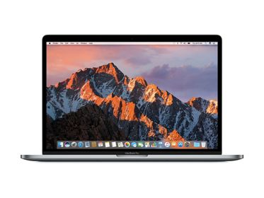 "MacBook Pro 15"" Retina m/Touch Bar Stellargrå,  Quad-core i7 2.6GHz, 16GB, 512GB PCIe SSD, Radeon Pro 460"