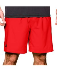 Under Armour Mirrage - Shorts - Rød