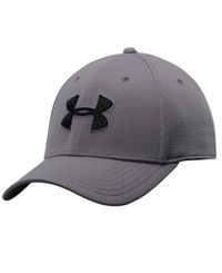 Under Armour Blitzing II - Caps - Graphite