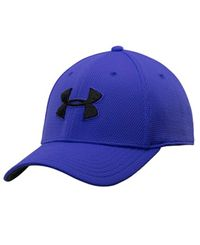 Under Armour Blitzing II - Caps - Royal blue