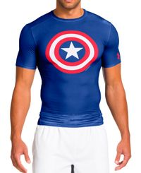 Under Armour Alter Ego Captain America - T-skjorte