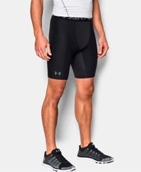 Under Armour HeatGear 2.0 Comp - Shorts - Svart