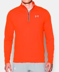 Under Armour Threadborne Streaker 1/4 Zip - Trøye - Phoenix Fire
