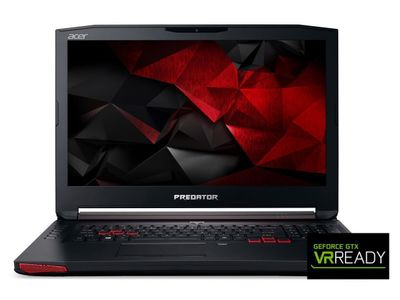 "ACER Predator G5-793 17,3"" Full HD matt GeForce GTX1060, Core i7-7700HQ,  16GB RAM, 512GB SSD, Windows 10 Home (NH.Q1XED.016)"