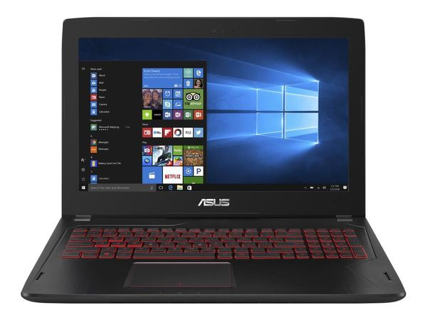 "ASUS FX502VM 15.6"" FHD matt GeForce GTX1060, Core i7-7700HQ, 16GB RAM,128GB SSD,1TB HDD,Win 10 Home (FX502VM-FY276T)"