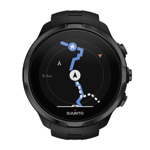 best i test SUUNTO Spartan Sport Wrist HR - Klokke - All Black (SS022662000)