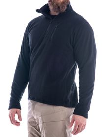 Fleece Pullover 1/4 Zip - Genser - Svart