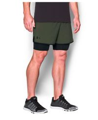 Under Armour Qualifier 2-in-1 - Shorts - Grønn