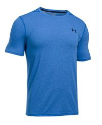 Under Armour Threadborne Fitted - T-skjorte - Blå