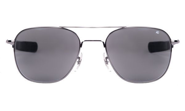 American Optical Original Pilot Black - Solbriller - Grey (OP52B.BA.TC)