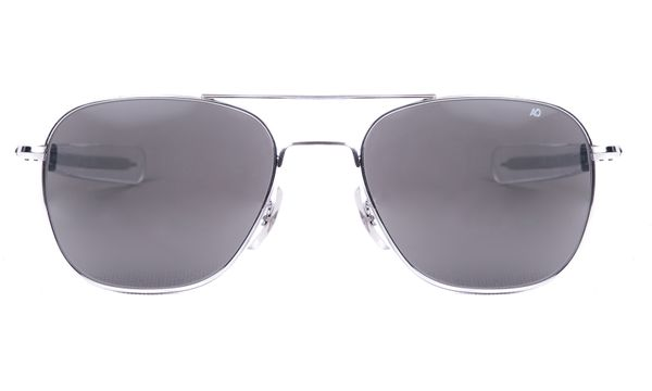 American Optical Original Pilot Silver - Solbriller - Grey (OP52S.BA.TC)