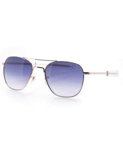 American Optical Original Pilot Gold Limited - Solbriller - Gradient Blue (OP55G.BA.GBLU)