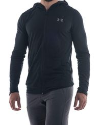 Under Armour Threadborne Fitted FZ - Hettegenser - Svart