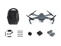 DJI Mavic Pro RTF 4K Fly More Combo, 2 ekstra batterier, billader, ladehub for 4 batterier og sekk
