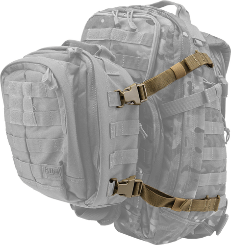 5.11 Tactical Rush Tier System - Molletilbehør - Svart (56957-019)