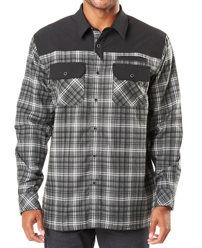 5.11 Tactical Endeavor Flannel - Skjorte - Charcoal Plaid (72468-084-S)