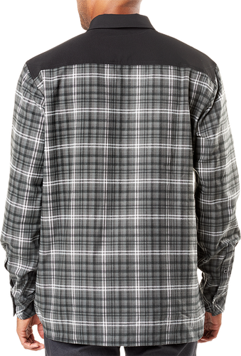 5.11 Tactical Endeavor Flannel - Skjorte - Charcoal Plaid (72468-084-L)