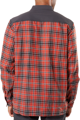 5.11 Tactical Endeavor Flannel - Skjorte - Oxide Red Plaid (72468-484-M)