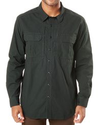 5.11 Tactical Expedition LS - Skjorte - SW Oil Green