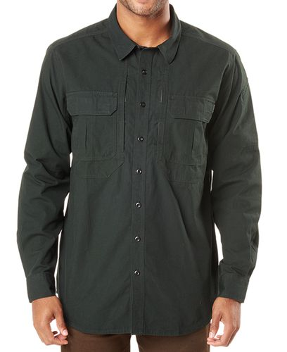 5.11 Tactical Expedition LS - Skjorte - SW Oil Green (72466-247-L)