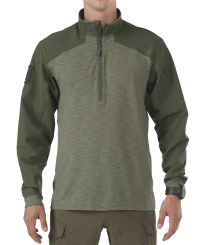 5.11 Tactical Rapid 1/4 Zip - Trøye - TDU Green (72415-190)