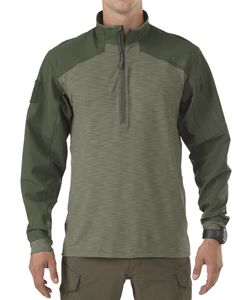 5.11 Tactical Rapid 1/4 Zip - Trøye - TDU Green (72415-190-S)