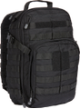 5.11 Tactical Rush 24L - Sekk - Svart (56892-019)
