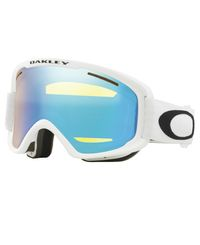 Oakley O2 XM White - Goggles - Hi Yellow