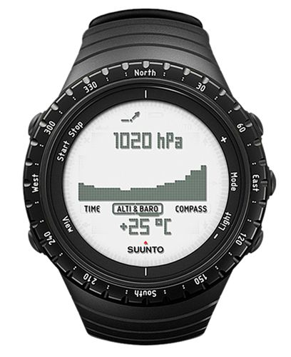 SUUNTO Core Regular Black - Klokke (SS014809000)