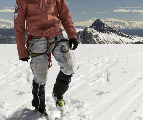 Amundsen Sports Peak - Knickerbockers - Hvit (MKB01.1.001.XL)
