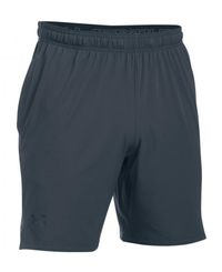 Under Armour Cage - Shorts - Grå