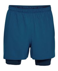 Under Armour Qualifier 2 - Shorts - Blå