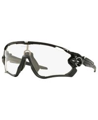 Oakley Jawbreaker Polished Black - Sportsbriller - Photochromic