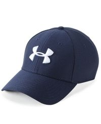 Under Armour Blitzing 3.0 - Caps - Marineblå
