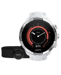 SUUNTO 9 Baro with Belt - Klokke - Hvit