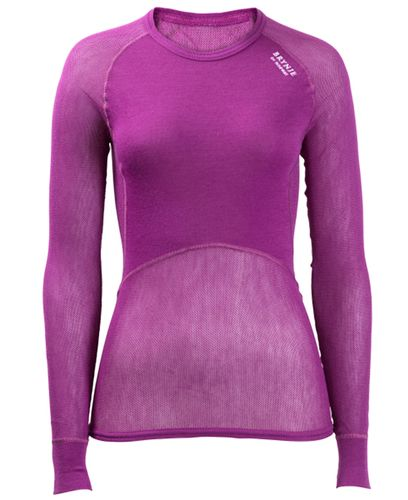 Brynje Lady Wool Thermo Light - Trøye - Lilla (10140301VI40)