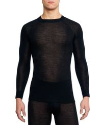 Thermowave Merino Warm - Trøye - Svart