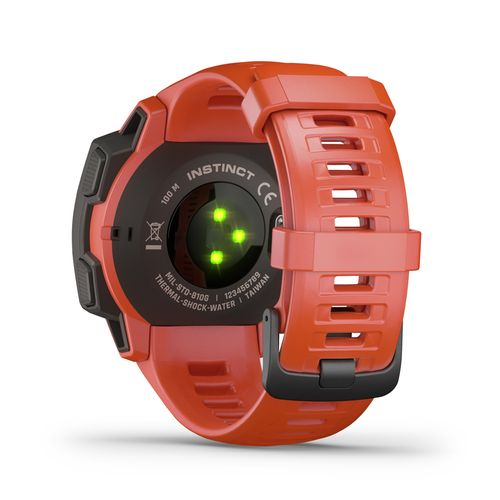 GARMIN Instinct - Klokke - Flame Red (010-02064-02)