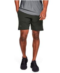 Under Armour Cage - Shorts - Grønn