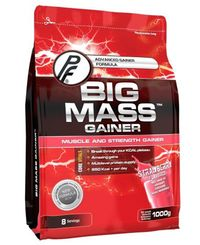 Proteinfabrikken Big Mass Gainer Strawberry 1kg - Proteinpulver (30000146)